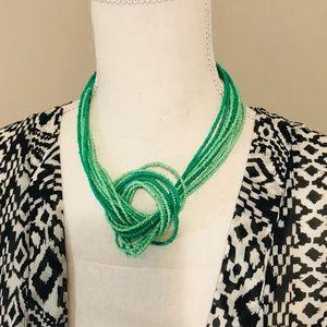 Tourquoise Knot Necklace
